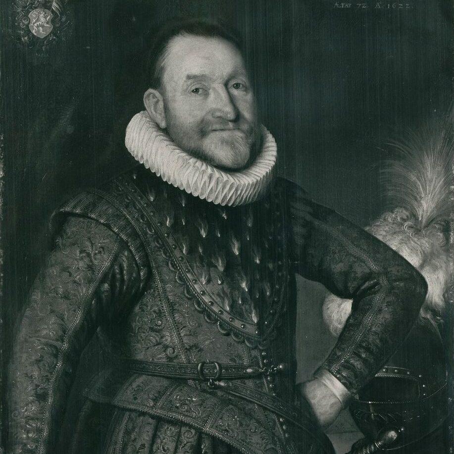 Portrait d'Agrippa d'Aubigné